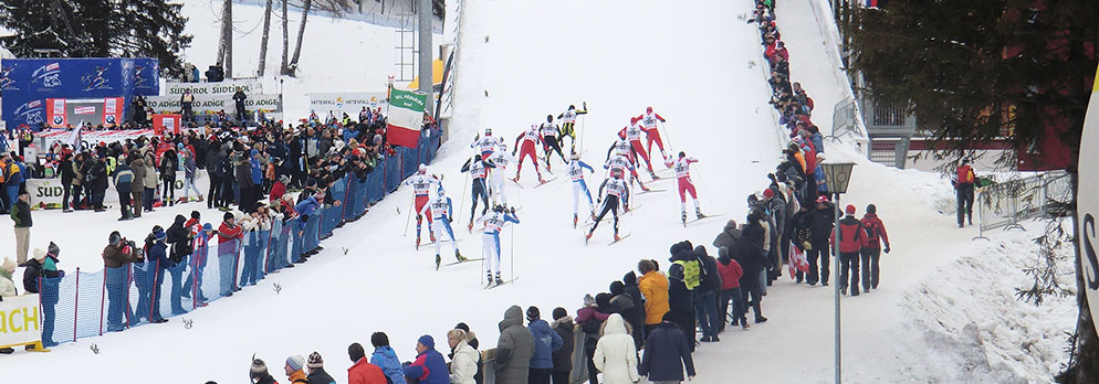 Tour de Ski in Toblach