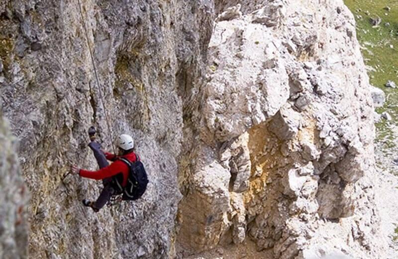 Klettersteig Englisch : Pößnecker klettersteig gröden vivodolomiten