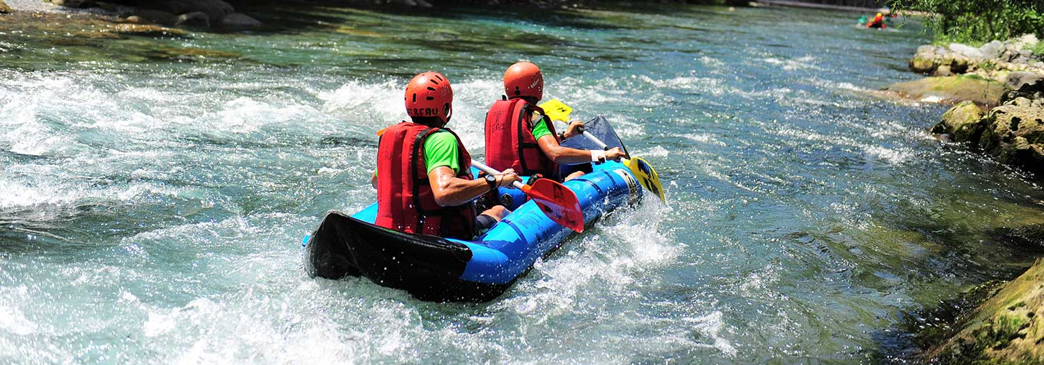 Rafting in den Dolomiten
