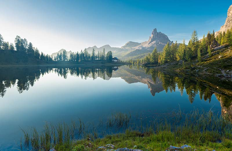 Federa see lago federa in den dolomiten for Lago n