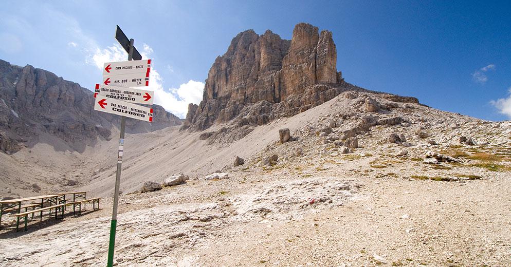 Klettersteig Pisciadu : Klettersteig pisciadù alta badia vivodolomiten