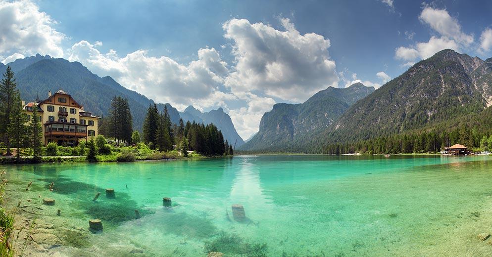 soggiorno lago ~ idee creative su interni e mobili - Soggiorno Lago Di Braies