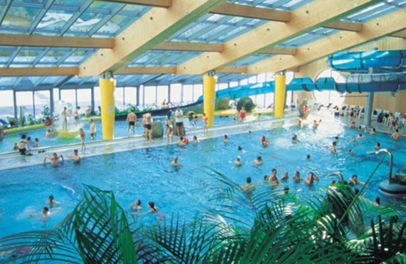 Piscina cascade plan de corones vivodolomiti - Residence a san candido con piscina ...