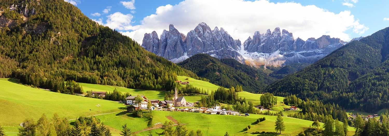 Val di Funes nelle Dolomiti d\u0027Isarco